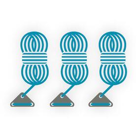 Bent Guy Ropes, light blue